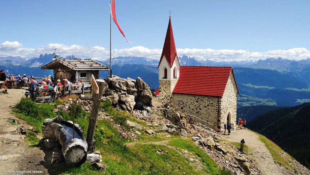 Gasser Hütte-Stöffl Hütte-Latzfonser Kreuz