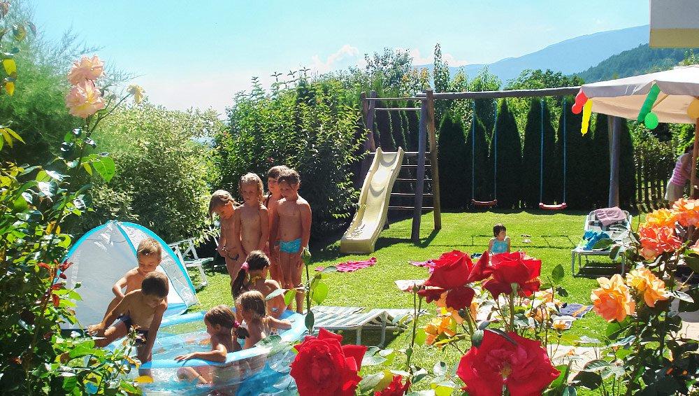 Pensione huberhof a velturno bressanone pension for Vacanze a bressanone